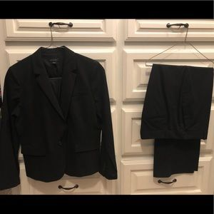Ann Taylor Suits with curvy fit pants